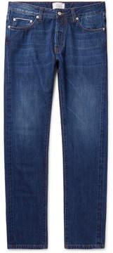 Officine Generale Slim-Fit Washed-Denim Jeans