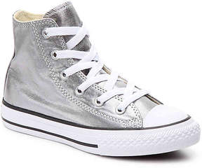 Converse Girls Chuck Taylor All Star Metallic Toddler & Youth High