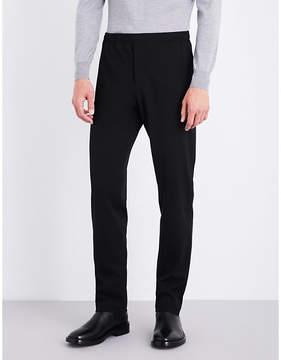 Joseph Straight regular-fit mid-rise gabardine trousers
