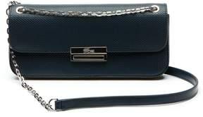 Lacoste Women's Chantaco Christmas Pique Leather Flap Shoulder Bag