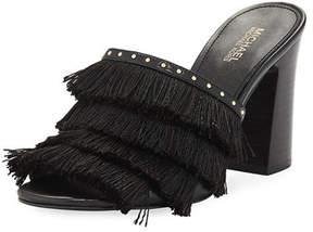 MICHAEL Michael Kors Gallagher Fringe Slide Sandal