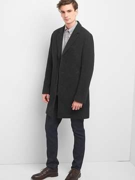 Gap Wool blend crombie coat