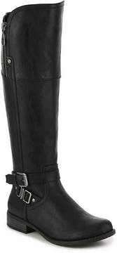 G by Guess Women's Heylow Wide Calf Riding Boot