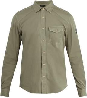 Belstaff Steadway single-cuff stretch cotton-blend shirt