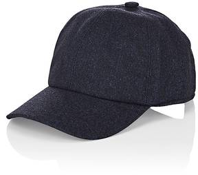 Barneys New York MEN'S DONEGAL-EFFECT WOOL-BLEND BASEBALL CAP