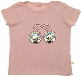 Stella McCartney Sunglasses Linen Blend Jersey T-Shirt