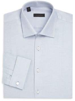 Saks Fifth Avenue COLLECTION Woven Button-Down Dress Shirt