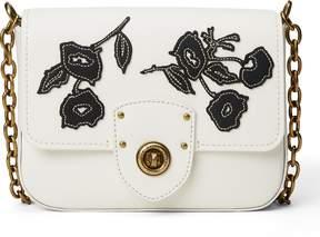 Ralph Lauren Floral Leather Crossbody Bag