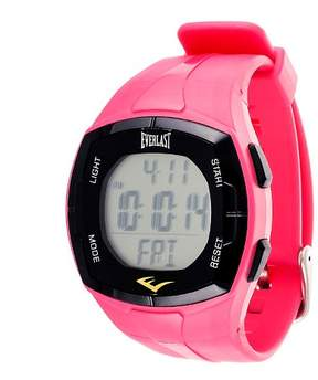 Everlast Heart Rate Monitor Watch with Chest Strap Pink