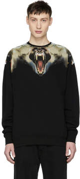 Marcelo Burlon County of Milan Black Monkeys Sweatshirt