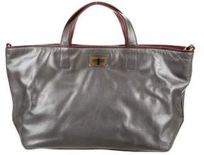 Chanel Iridescent Caviar Leather Mademoiselle Tote
