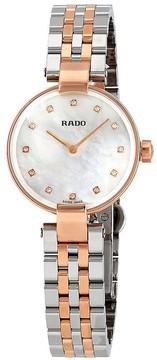 Rado Coupole Diamonds S Diamond Ladies Watch