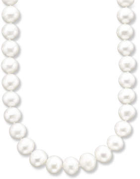 Belle de Mer Aa 18 Cultured Freshwater Pearl Strand Necklace (9-1/2-10-1/2mm) in 14k Gold