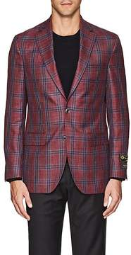 Jack Victor MEN'S CHECKED TWO-BUTTON SPORTCOAT