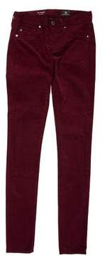 Adriano Goldschmied Low-Rise Corduroy Pants w/ Tags