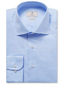 Hackett Blue Mayfair Slim-Fit Cotton-Poplin Shirt