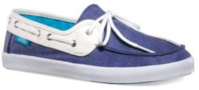 Vans Womens Chauffette Comfort Boat Shoes stvnavywhite 5