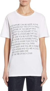 Each X Other Women's Graphic Cotton Tee