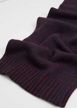Mango Outlet Bicolor knit scarf