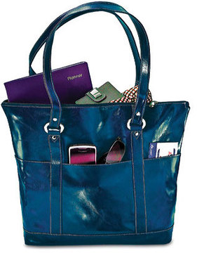 Women's David King Leather 3583 Florentine Large Multi Pocket Tote
