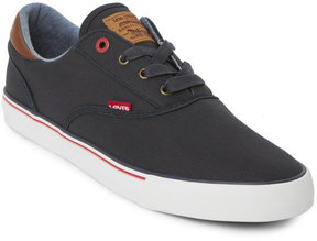 Levi's Navy Ethan Canvas Low Top Sneakers