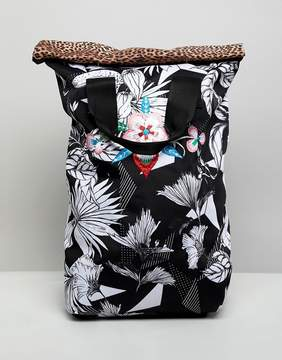 adidas Roll Top Printed Backpack