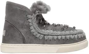 Mou 40mm Mini Eskimo Embellished Boots