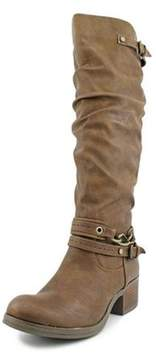 Carlos by Carlos Santana Cassie Round Toe Synthetic Knee High Boot
