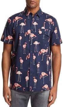 Sovereign Code Flamingo Short Sleeve Button-Down Shirt - 100% Exclusive