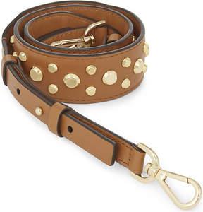 MICHAEL Michael Kors Studded leather guitar bag strap - ACORN - STYLE