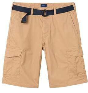 Gant Men's Beige Cotton Shorts.