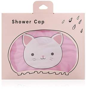 Forever 21 Cat Graphic Shower Cap