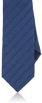Giorgio Armani Men's Striped Silk Necktie
