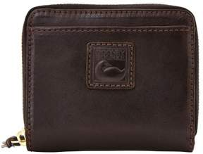 Dooney & Bourke Florentine Small Zip Around Wallet - BLACK BLACK - STYLE