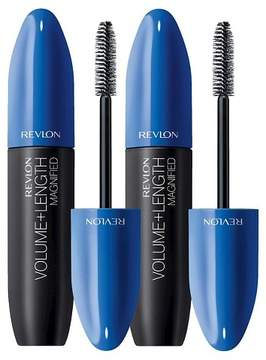 Revlon Volume + Length Mascara Value Pack Blackest Black 0.56 oz