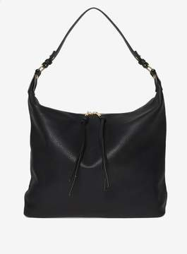 Dorothy Perkins Black Double Zip Hobo Bag