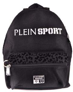 Philipp Plein Women's Black Polyamide Backpack.