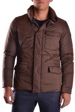 Geospirit Men's Brown Polyester Outerwear Jacket.