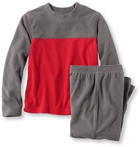 L.L. Bean Boys' Cozy Fleece Pajama Set