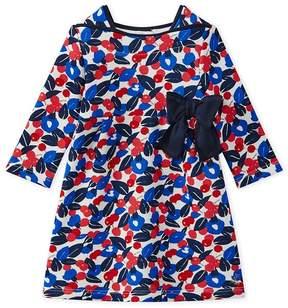 Petit Bateau Baby girl's floral print dress