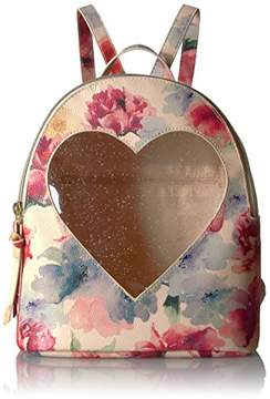 T-Shirt & Jeans Floral Heart Back Pack