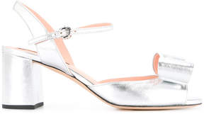 Rochas bow front heeled sandals