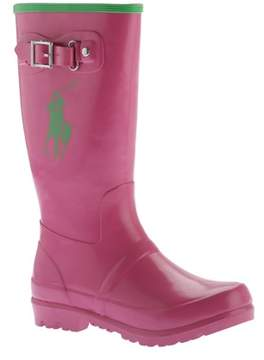 Polo Ralph Lauren Girls' Ralph Rain Boot - Big Kid