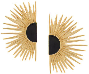 Aurelie Bidermann half sun clip-on earrings