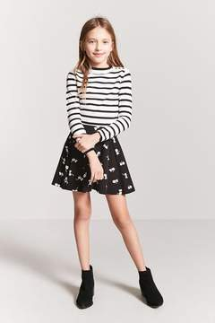 Forever 21 Girls Stripe Sweater Top (Kids)