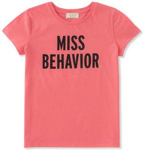 Kate Spade Miss Behavior Tee, Size 2-6
