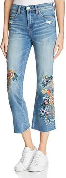Blank NYC BLANKNYC Embroidered Cropped Flared Jeans in Delaytionship