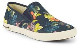 SeaVees Baja Floral Print Slip-On Sneakers