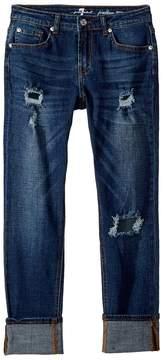 7 For All Mankind Kids Josephina Boyfriend Jeans in Duchess Girl's Jeans
