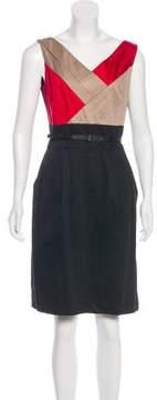 Tahari Arthur S. Levine Sleeveless Knee-Length Dress